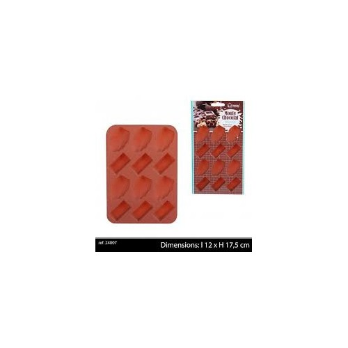 Moule Silicone 12 Chocolats